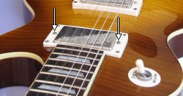 adjusting the humbucker pickup height
